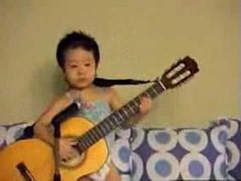 Asian baby hey jude