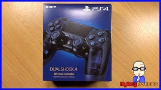 DualShock 4 - 500 Million Limited Edition Transparent Controller (PS4)   Unboxing   MyKeyReviews