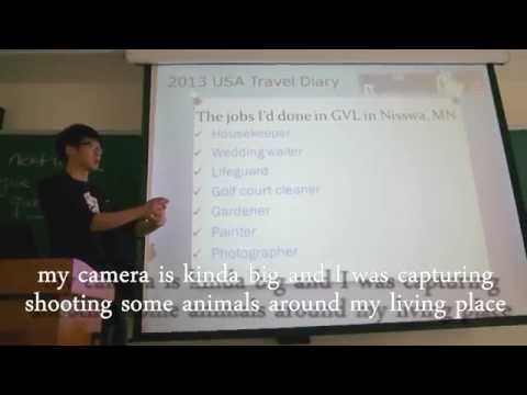 the experience of work and travel in USA 2013 part 1