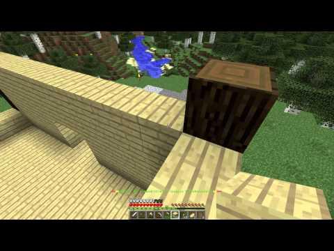 MINECRAFT Выживание с друзьями (3 серия) строим дом