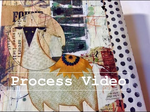 How to Make a Cover for your Magazine Journal - Process Video