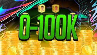 The Quickest Way To Make Your First 100k Coins! FIFA 21 0-100K