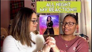 Steve Aoki x Lauren Jauregui - All Night (Official Video) (REACTION)