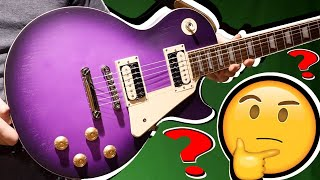 It's Pretty... But Is It Any Good? | NEW 2020 Epiphone Les Paul Classic Worn Purple Burst | Review