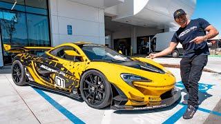 I WENT BACK FOR THE MCLAREN P1 GTR! || Manny Khoshbin
