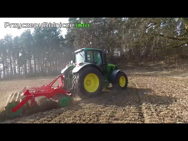 John Deere - Zychar Burty do przyczep - Film zrealizowany przez Rolniczy Portal Filmowy