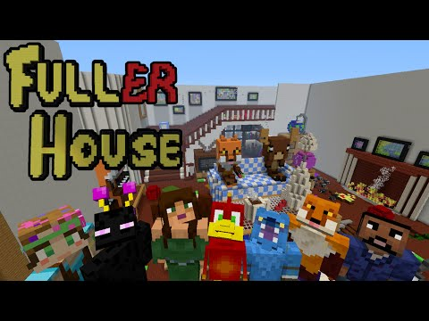 Fuller House - Minecraft XBOX Hide and Seek