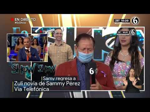Buenas noticias sobre Sammy Pérez   Es Show