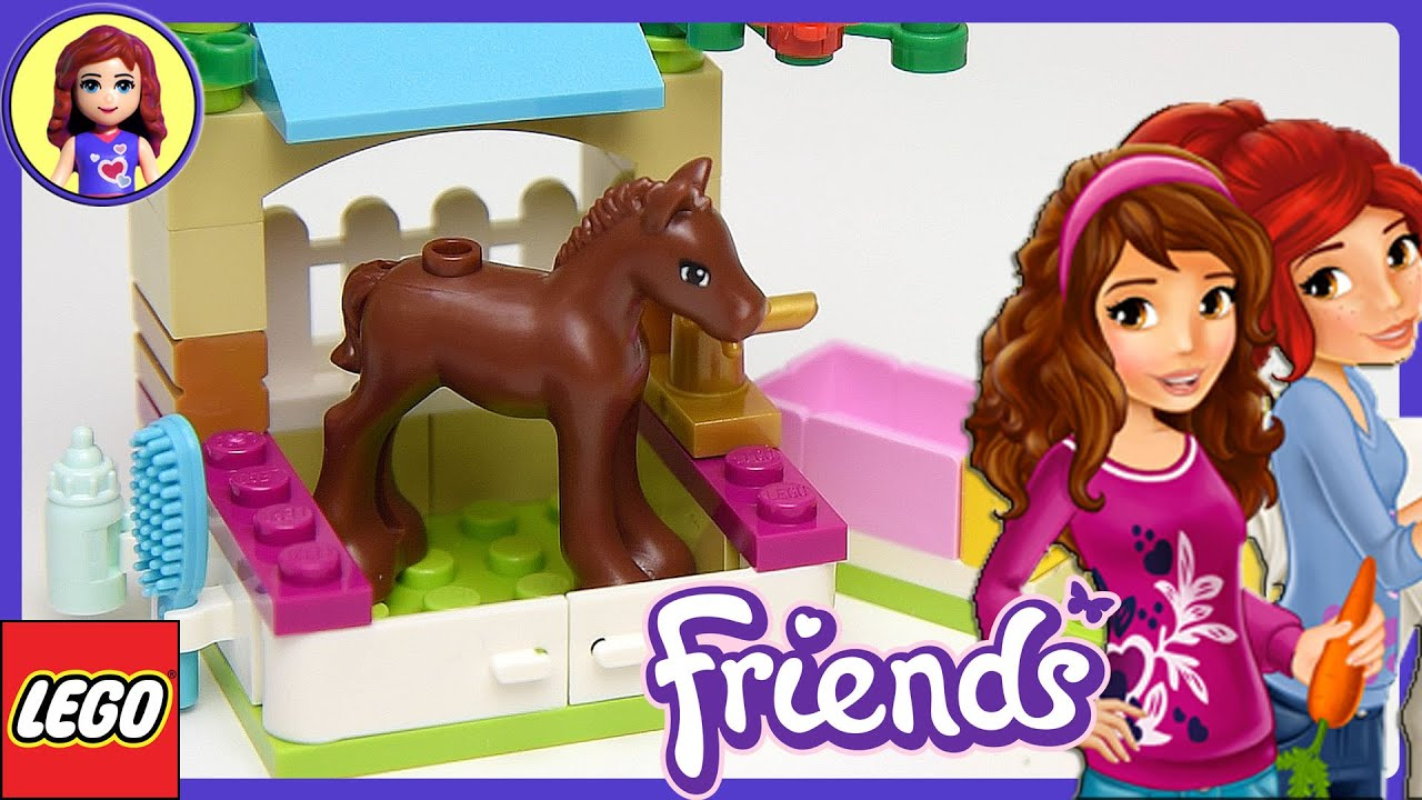 LEGO Friends Little Foal Set Unboxing Review and Play ...