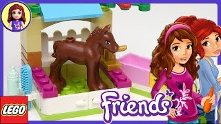 LEGO Friends Little Foal Set Unboxing Review and Play - Kids Toys