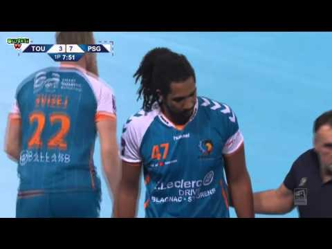 Toulouse VS Paris Saint-Germain Handball Coupe de la Ligue 2015 2016 demi-finale