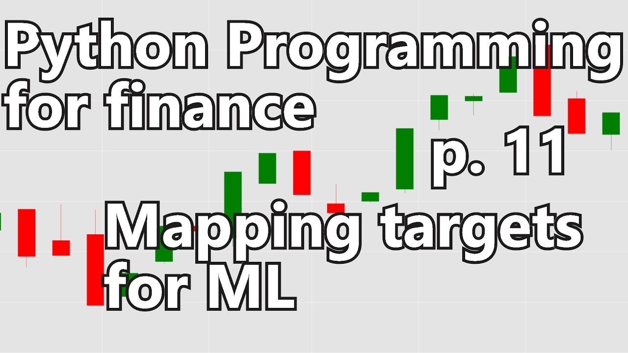 Creating labels for Machine Learning - Python Programming for Finance p  11