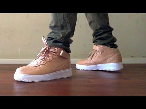 premium selection 143f7 e7d82 Nike Lab Air Force 1 Mid Vachetta On Feet