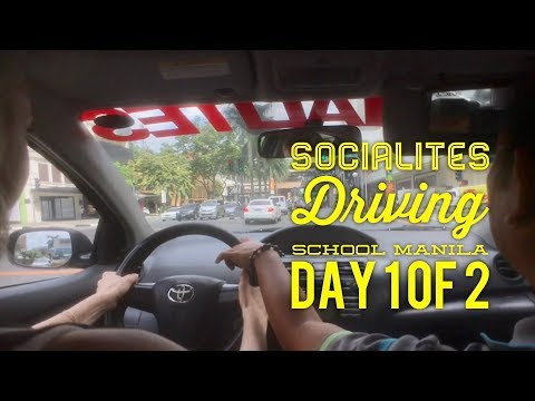 Socialites Excellent Driving School Manila Day 1 of 2: 2 Hour Session