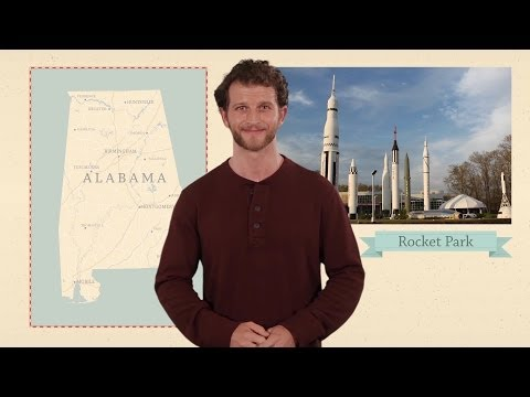 Alabama - 50 States - US Geography