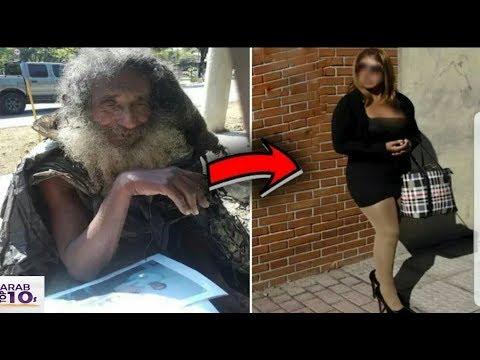 هذا الرجل ظل  يعيش في الشارع  لمدة 35 سنة وعندما قابل هذه الفتاة  تغير كل شيء