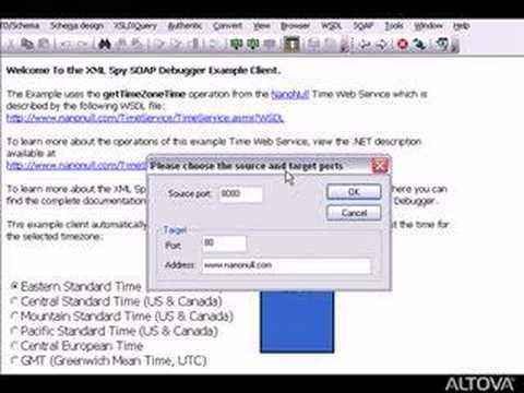 SOAP Client and SOAP Debugger in XMLSpy