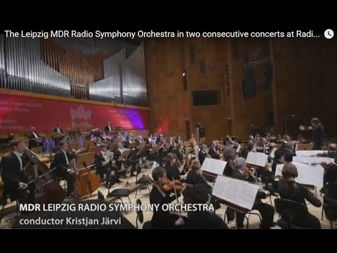 The Leipzig MDR Radio Symphony Orchestra in two consecutive concerts at RadiRo