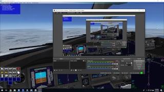 Microsoft Flight Simulator X: Plane Day Flight 2019 (1/19/2019) Part 2: Descent & Landing