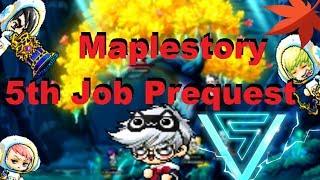 Maplestory 5th Job Advancement 2019