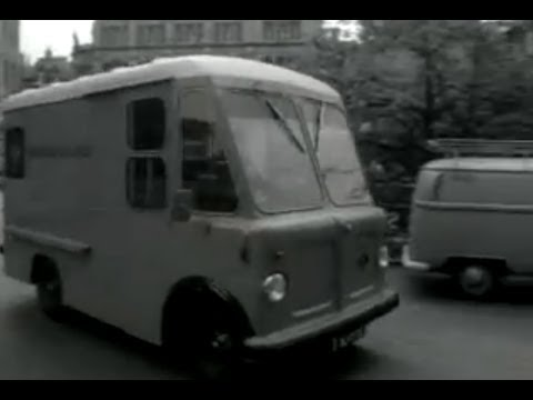 electrische bestelauto van van gend loos 1971 youtube. Black Bedroom Furniture Sets. Home Design Ideas