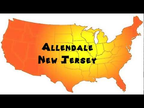 How to Say or Pronounce USA Cities — Allendale, New Jersey