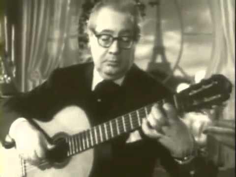 Andres Segovia, Classical Guitar God h