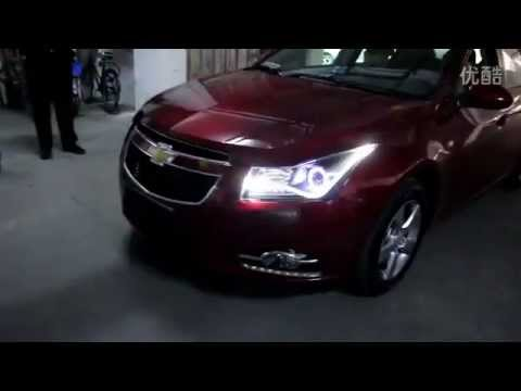 2009 2013 chevrolet cruze xenon headlight with led drl and. Black Bedroom Furniture Sets. Home Design Ideas