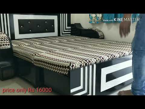 Best Sofa cum Bed 3 fold, double bed, 4 person seating space size 6 by 7