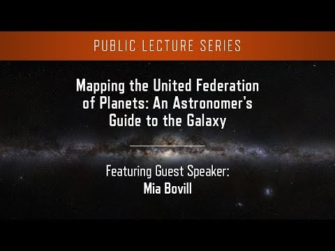 Mapping the United Federation of Planets: An Astronomer's Guide to the Galaxy