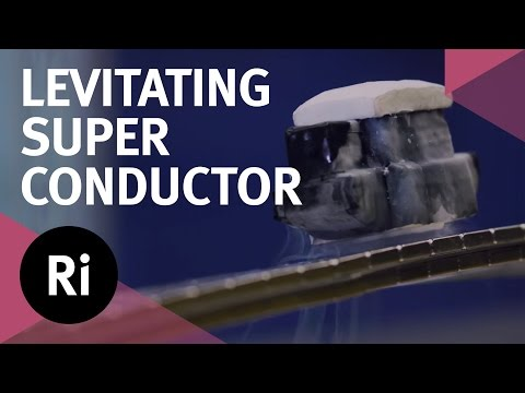 Levitating Superconductor on a Möbius strip