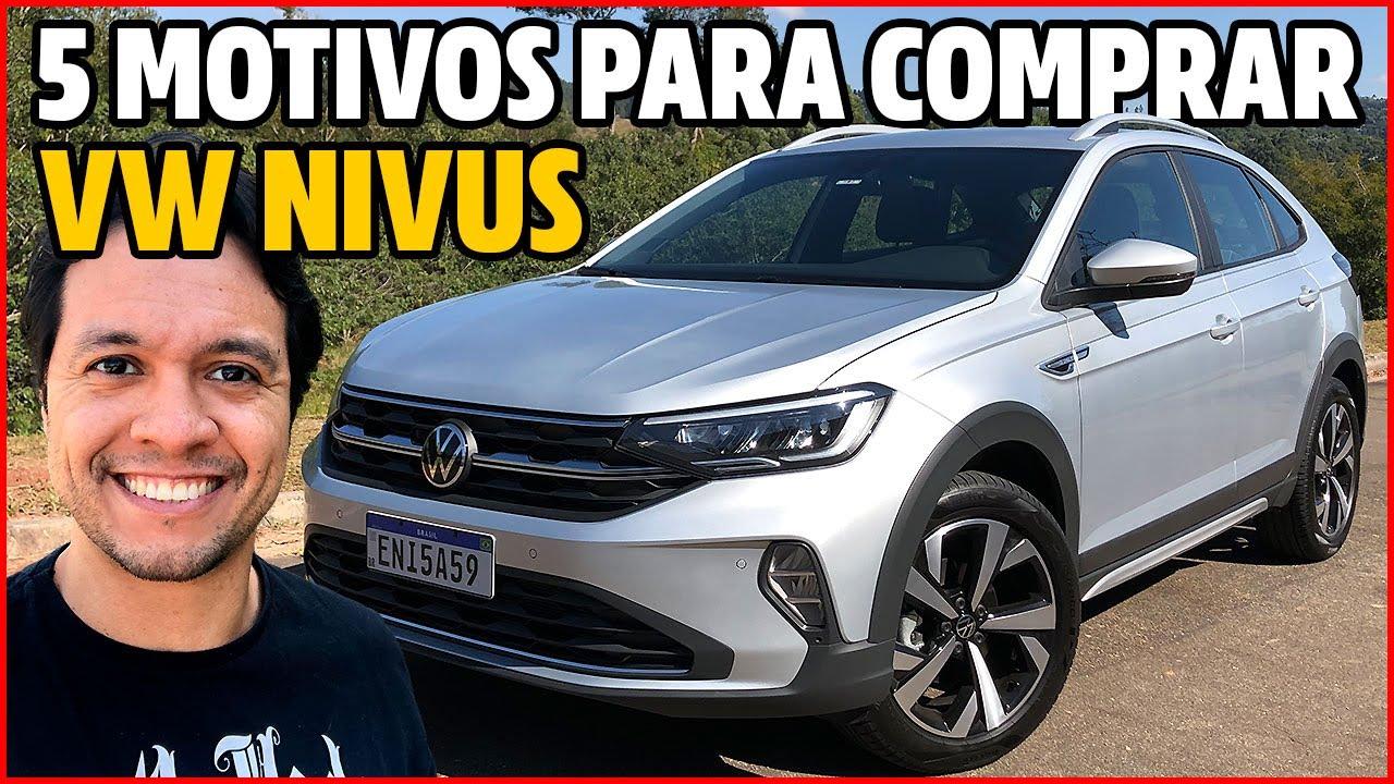 DIRIGI O NOVO VW NIVUS HIGHLINE: 5 MOTIVOS PARA VOCÊ COMPRAR O SUV