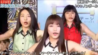 20170316 AbemaTV 原宿駅前ステージ#41①『キャノンボール』原駅ステージA.