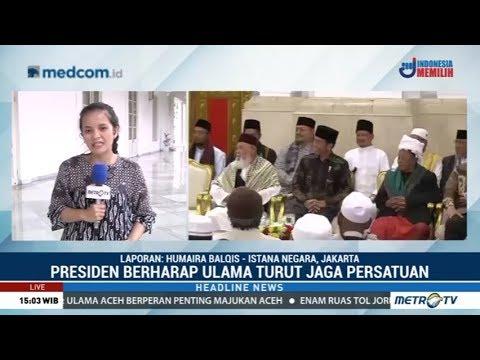 Jokowi Didampingi Surya Paloh Temui Ulama Aceh