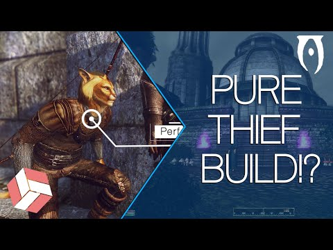 Oblivion - Character Builds: The Pure Thief (2019 Class Guide)