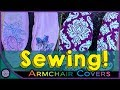 Super Cool Arm-Rest Covers! -Sewing & Embroidery #1