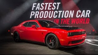Dodge Challenger SRT Demon Press 2017 | Most Powerful V -8 Engine