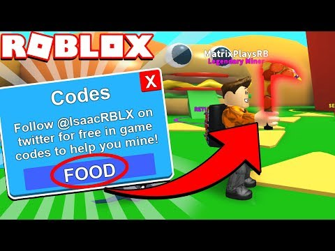 [Secret Codes] New Food-Land Update in Mining Simulator! *BEST UPDATE YET!*