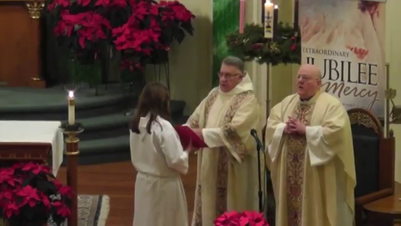 St  Patrick's Rouses Point Christmas Eve Mass  12-24-15