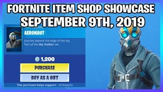 *NEW* AERONAUT SKIN SET! (Fortnite Item Shop 9th September)