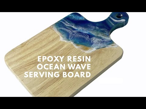 TotalBoat Epoxy Resin Ocean Serving Board Kit