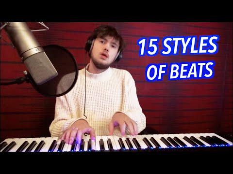 15 Styles of Rap Beats! (ft. Drake, Pop Smoke, 100 Gecs, NF, Dababy)