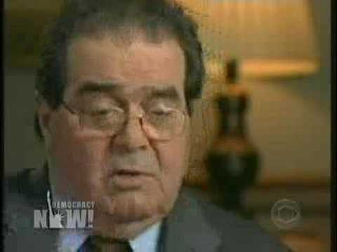 Justice Scalia defends torture (MUST WATCH!!!)