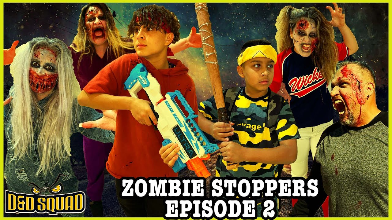 Download ZOMBIE STOPPERS EPISODE 2   THE WEREWOLF RETURNS   D&D SQUAD