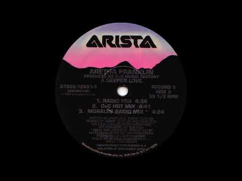 Aretha Franklin - A Deeper Love (Radio Mix) Arista Records 1993