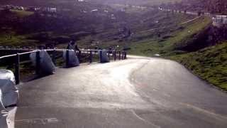 11th Klausenrennen 2013: Harley Davidson VL overtaken by Motosacoche 414