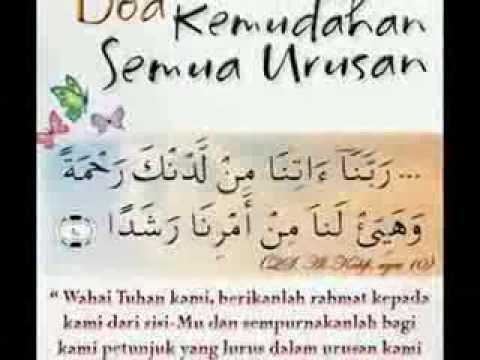 Doa Mohon Kemudahan dalam Segala Urusan