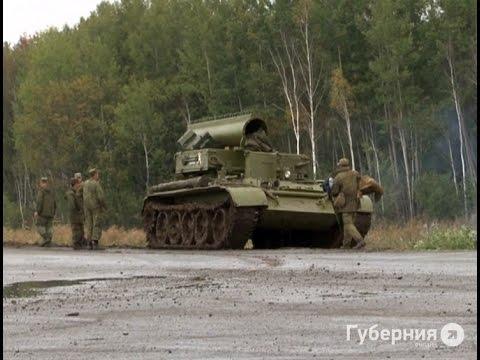 Танковый тягач опрокинулся на пригородной трассе.MestoproTV