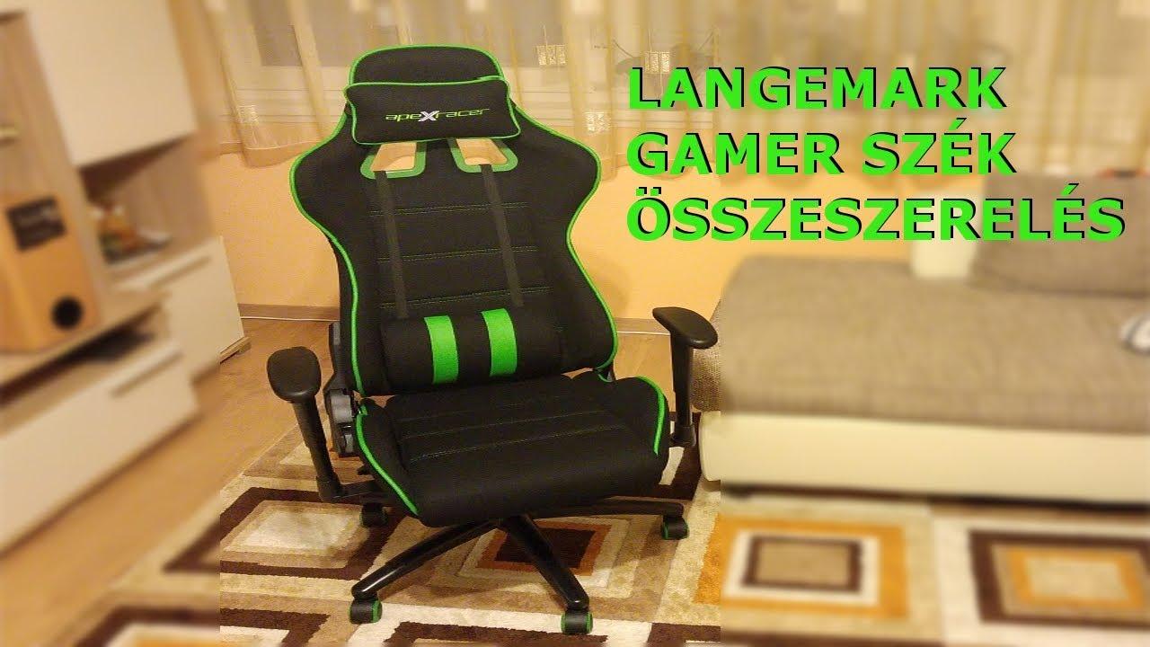 Langemark Gamer szk  Apex Racer  Jysk  YouTube