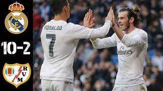 Реал Мадрид Райо Вальекано 10 2 Обзор Матча Чемпионата Испании 20 12 2015 HD
